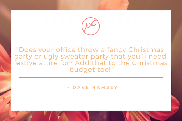 Dave Ramsey on Christmas Budgets