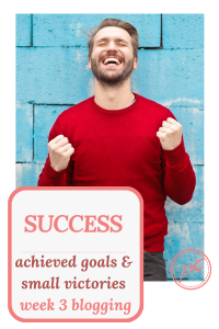 This was a successful week. It was productive. I achieved my goal and had a few small successes. Read what all I got done in my 3rd week blogging.