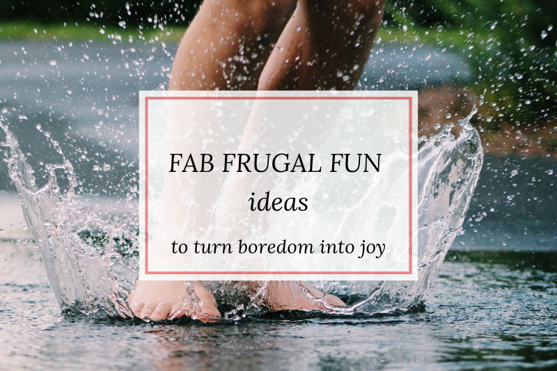 ways to have frugal fun