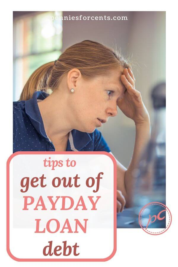 tips to get out of payday loan debt