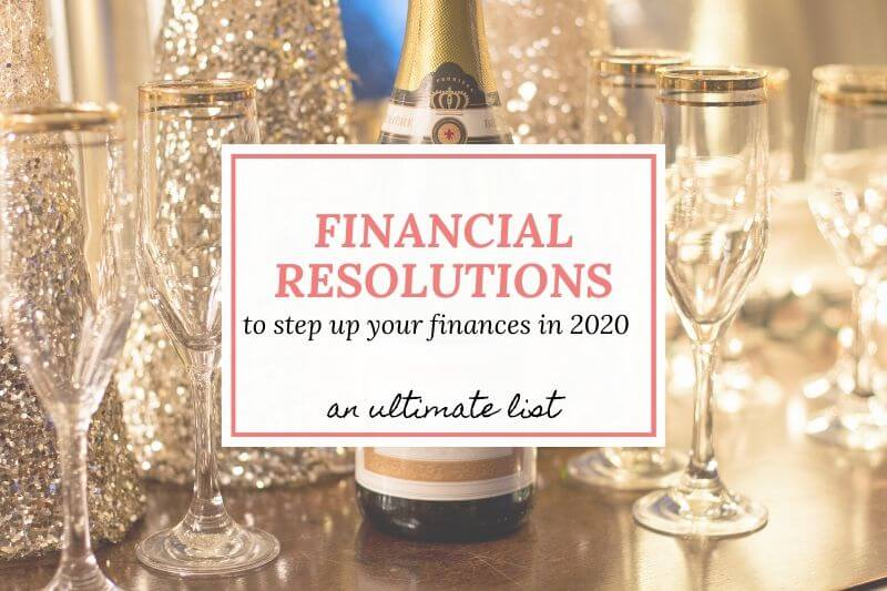 new year's financial resolutions list