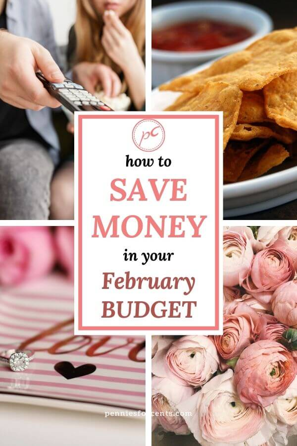 Monthly Budget February Save